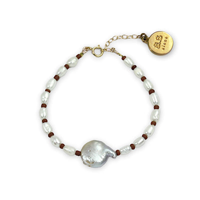 MARINA Bracelet - Saddle Brown