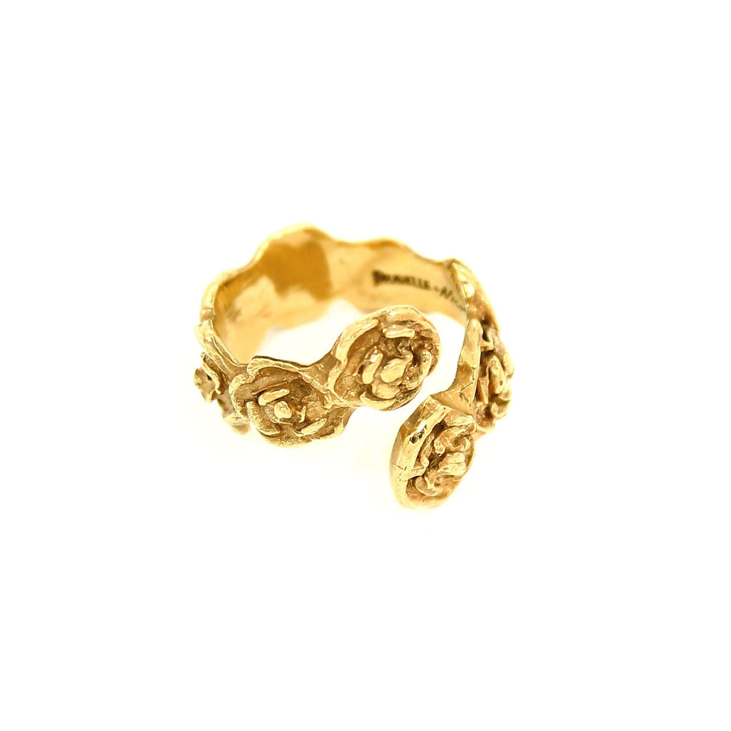 DANIELLE ROSE WRAP Ring - Gold - Alona  - 1
