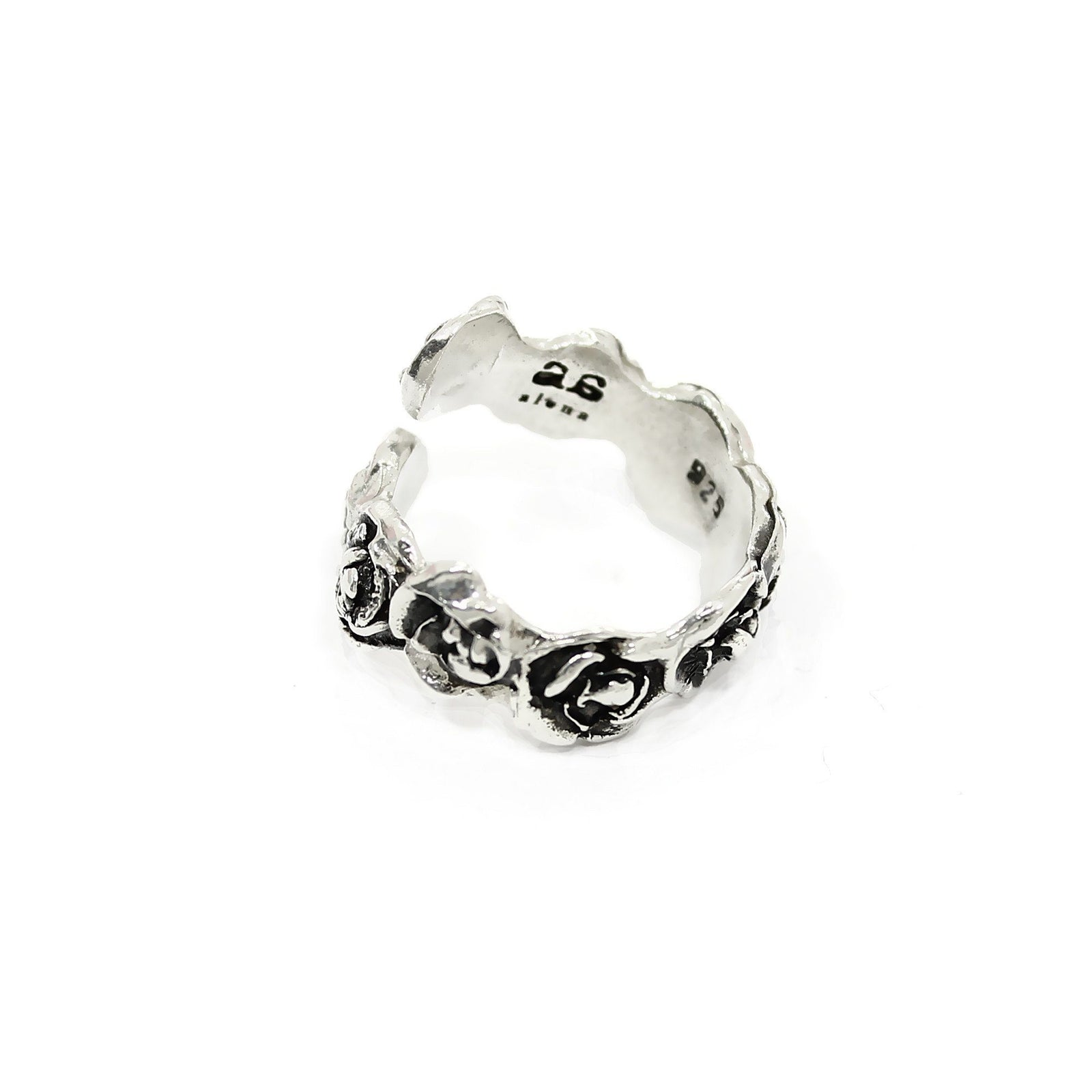 DANIELLE ROSE WRAP Ring - Silver - Alona  - 4