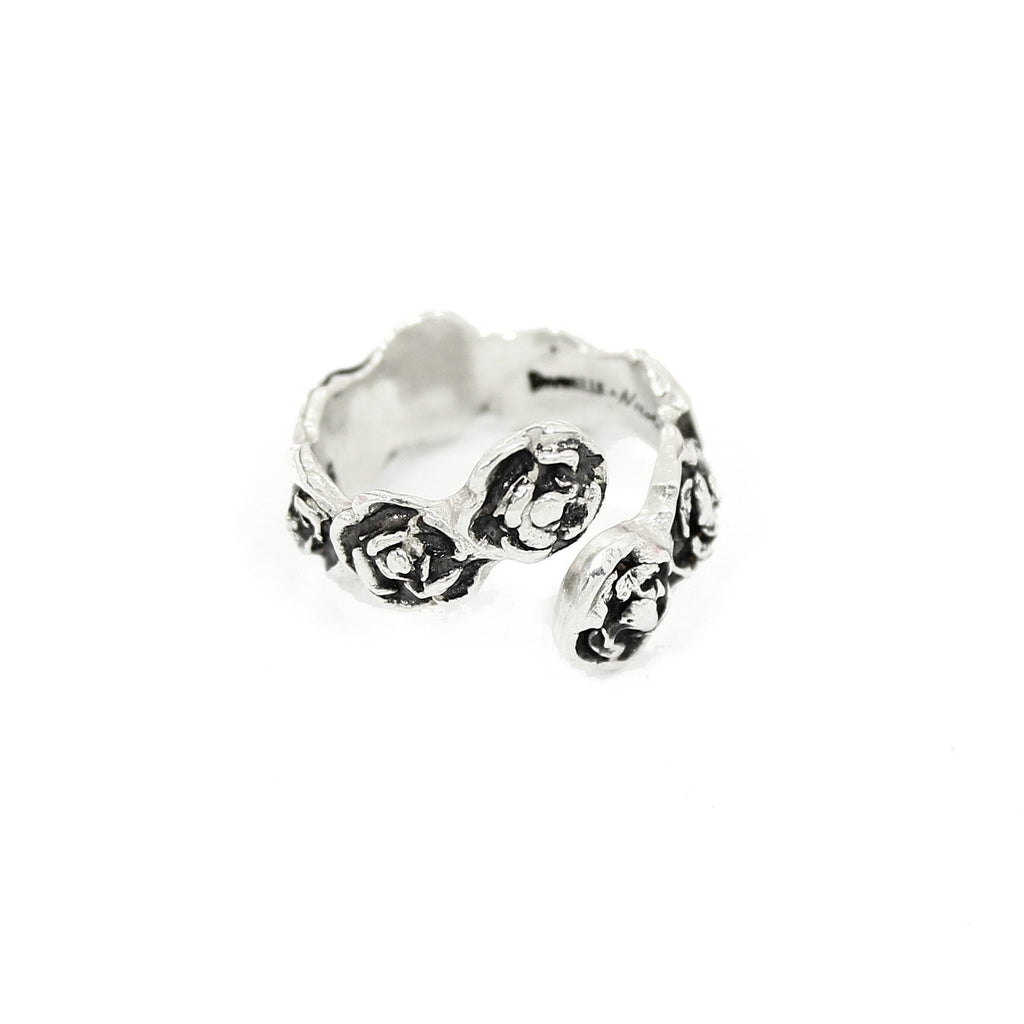 DANIELLE ROSE WRAP Ring - Silver - Alona  - 1