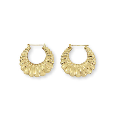 JERRY Earrings - 9K Gold