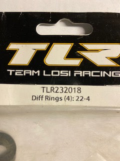 TLR  Diff  Rings - Hobby Shop