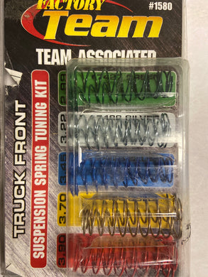 Team Associated suspension spring tuning kit  -  Hobby Shop