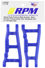 Load image into Gallery viewer, RPM 80705 Front/Rear A-Arms Blue Slash/Stampede 4x4 Blue - Hobby Shop