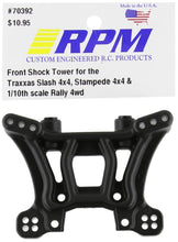 Load image into Gallery viewer, RPM 70392 Front Shock Tower Slash/Stampede 4x4 Black - Hobby Shop