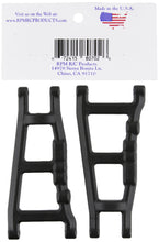 Load image into Gallery viewer, RPM 80702 Front/Rear A-Arms Black Slash/Stampede 4x4 Black - Hobby Shop