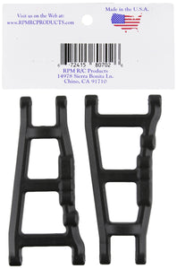 RPM 80702 Front/Rear A-Arms Black Slash/Stampede 4x4 Black - Hobby Shop
