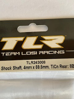 TLR  16mm  shock shaft  4mm  rear - Hobby Shop