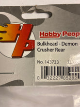 Load image into Gallery viewer, Hobby People  Bulkhead - Demon crusher rear - Hobby Shop