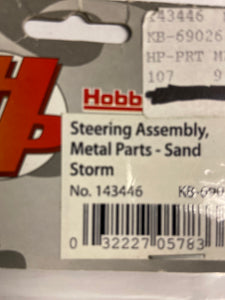 Hobby Peolpe  Steering assembly metal parts - sand storm - Hobby Shop