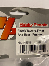 Load image into Gallery viewer, Hobby People shock towers F/R - Hobby Shop