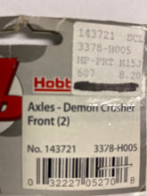 Load image into Gallery viewer, Hobby People  Axles - Demon Crusher Front (2) - Hobby Shop