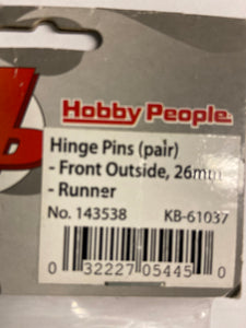 Hobby People  Hinge Pins 26mm - Hobby Shop