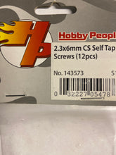 Load image into Gallery viewer, Hobby People 2.3x6mm  CS Self Tap Screws - Hobby Shop