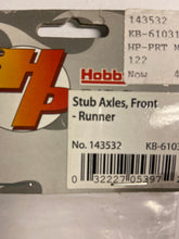 Load image into Gallery viewer, Hobby People  Stub Axles Front - Hobby Shop