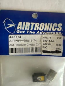 Airtronics  AM   crystal  CH74 - Hobby Shop