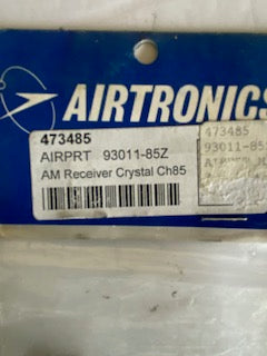 Airtronics  AM  Rx  crystal - Hobby Shop