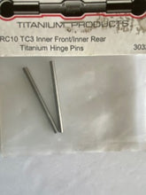 Load image into Gallery viewer, Lunsford Titanium inner front / inner rear hing pins - Hobby Shop