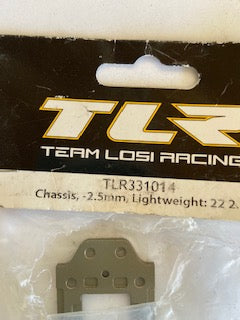 TLR   Chassis  2.5mm lightwieght 22  2.0 - Hobby Shop