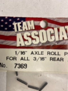 1/16  Axle Roll Pins - Hobby Shop