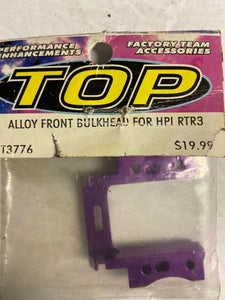 Alloy front bulkhead for HPI