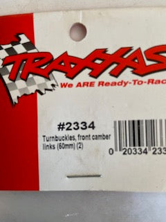 Traxxas   Turnbucles front camber links 50mm  (2)