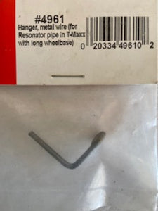 Traxxas  Hanger , metal wire for resonator pipe