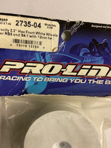 "Pro -Line Velocity 2.2"" Hex  Front Wheels _ Hobby Shop"