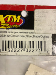 XTM  Center gear steel  Outlaw - Hobby Shop