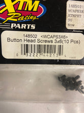 Load image into Gallery viewer, XTM  Button  Head   Screws - Hobby Shop