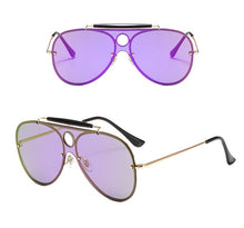 Load image into Gallery viewer, Aviator Sunglasses With Gradient Lenses - Beyazura.com