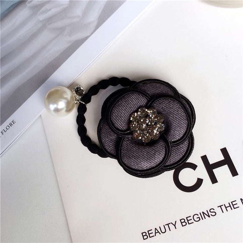 Luxury Flower Hair Ropes - BEYAZURA.COM