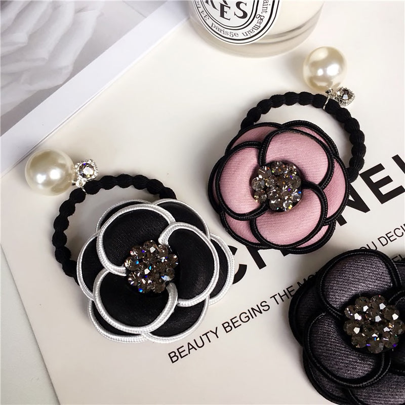 LUXURY FLOWER HAIR ROPES (SET OF 3)