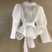 Load image into Gallery viewer, Sheer Blouse Shirt - Beyazura.com