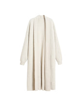 Load image into Gallery viewer, Midi Mohair Fake Mink Cashmere Oversized Cardigan - BEYAZURA.COM