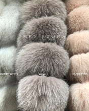 Load image into Gallery viewer, Long Fox Fur Vest - BEYAZURA.COM