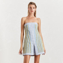 Load image into Gallery viewer, Off The Shoulder A Line Above The Knee Dress - Beyazura.com