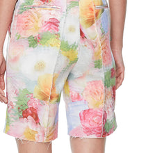 Load image into Gallery viewer, Multi Print Flower Print Long Shorts - BEYAZURA.COM