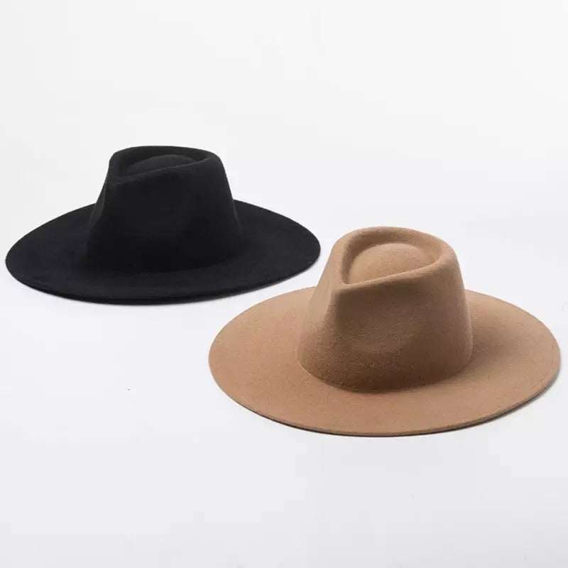 LUX SOLID GENUINE AUSTRALIAN WOOL HATS