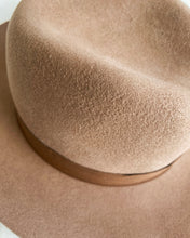 Load image into Gallery viewer, Brown Luxury Australian Wool Fedora Hat - BEYAZURA.COM