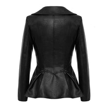 Load image into Gallery viewer, Vegan Leather Corset Style Waist Jacket - Beyazura.com