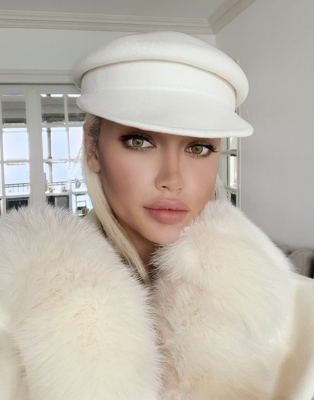 Warm Wool Felt Chic Newsboy Hats - BEYAZURA.COM