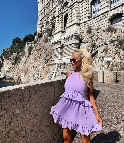 Revolve Purple Dress - BEYAZURA.COM