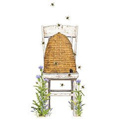Mary Lake-Thompson - Beehive/Chair Flour Sack Towel