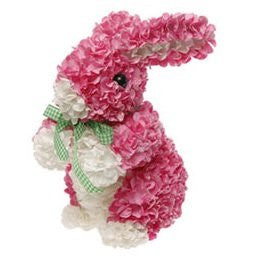 "RAZ Imports - Easter Spring 6.5"" Multicolored Hydrangea Bunnies"