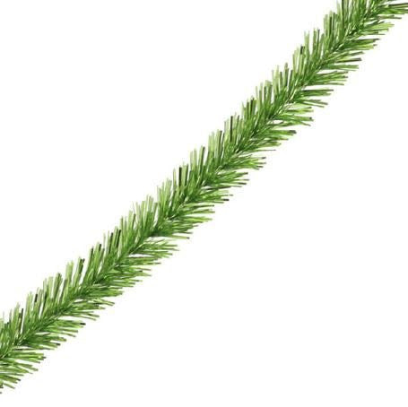 RAZ Imports - Green Wired Tinsel Garland Ribbon 24 Yards