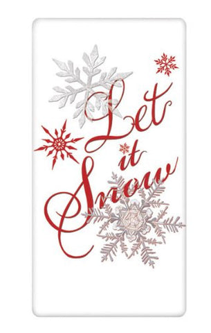 Mary Lake-Thompson - LET IT SNOW BAGGED TOWEL