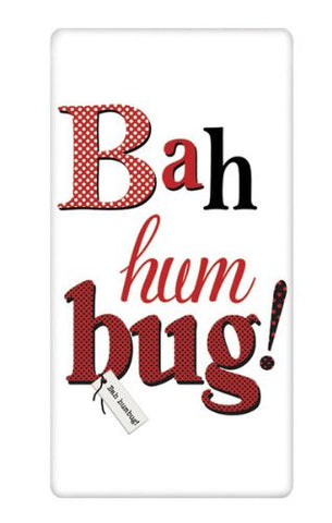 Mary Lake-Thompson - BAH HUM BUG BAGGED TOWEL