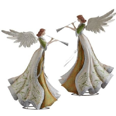 RAZ Imports - Angels with Trumpets 18""