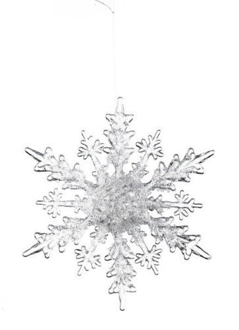 Sullivans - Clear Snowflake with Ice